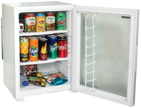 Exclusive Hotel Minibar White Model