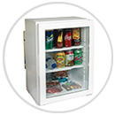Glass Door Hotel Minibar