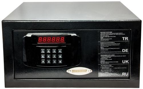 Hotel safe box black